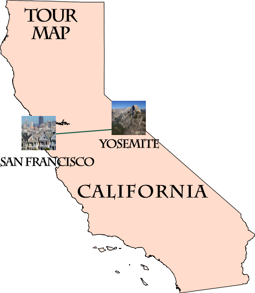 Hotels Between San Francisco And Yosemite