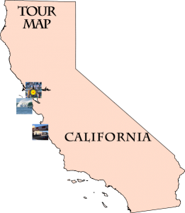 Monterey Tour Map